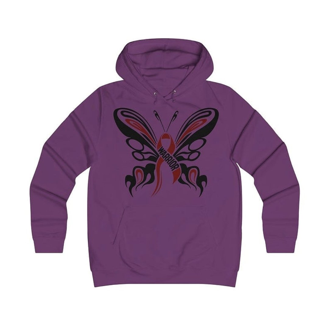 Warrior purple hooded top - I need your help.
